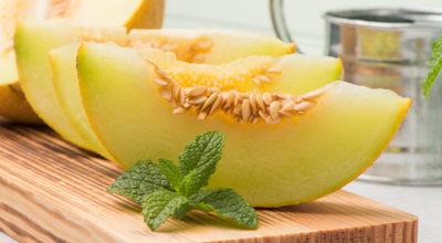 3 diferentes tipos de melão e os seus benefícios